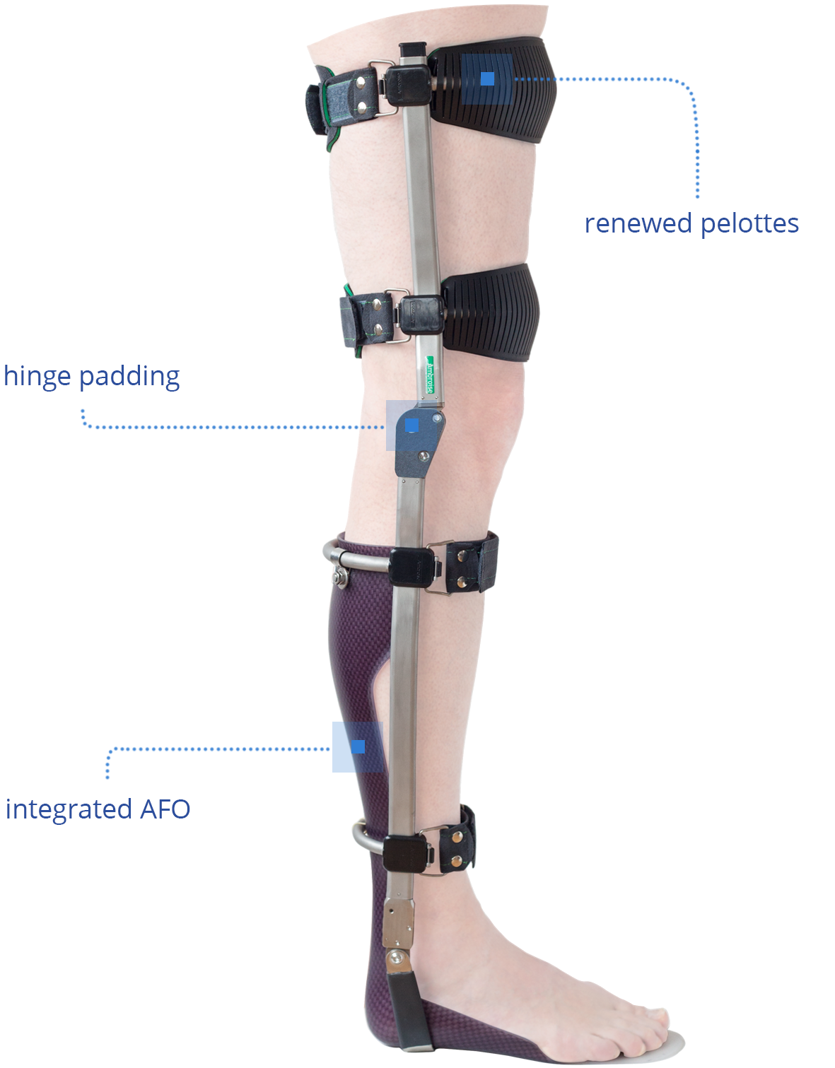The orthoses of Ambroise are continuously in <strong> development </ strong>